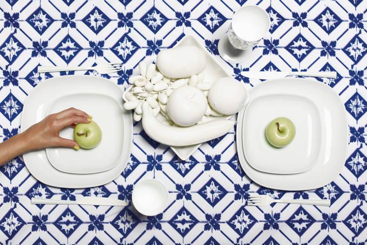 Cocina de estilo  por Inspirações Portuguesas