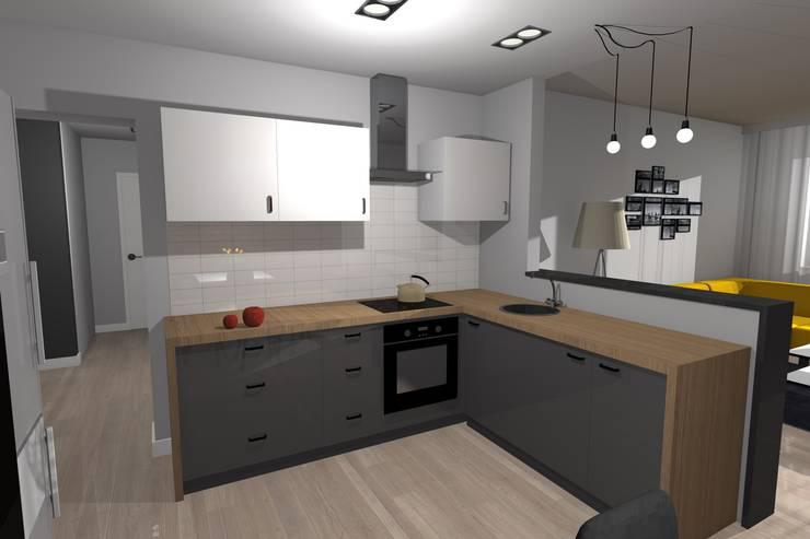 Rycerska mieszkanie: styl , w kategorii  zaprojektowany przez Arta Design