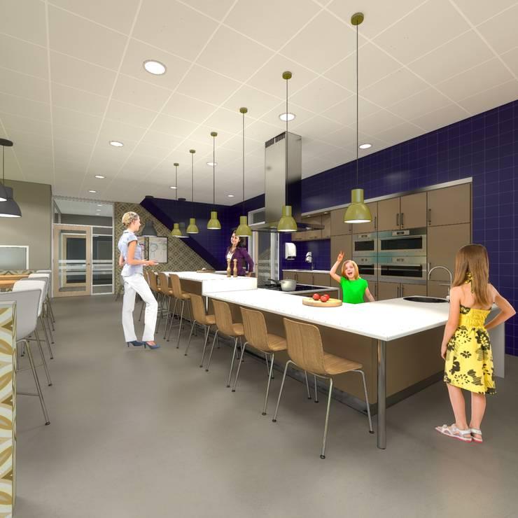 MFA KAZ Zwijndrecht:  Scholen door architectenburo frans van roy
