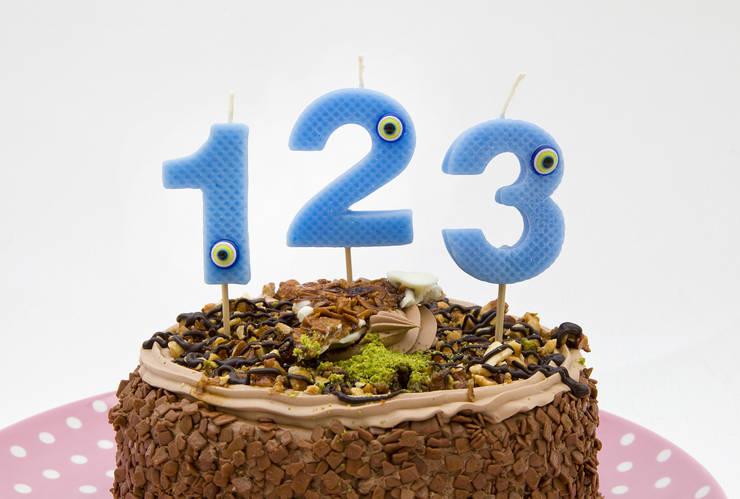 Sinerjimum – Rakamlı doğum günü mumları:  tarz