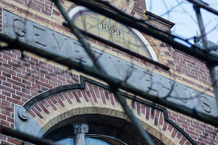 Oude gemeentehuis Cromvoirt:  Huizen door Van Pelt architecten