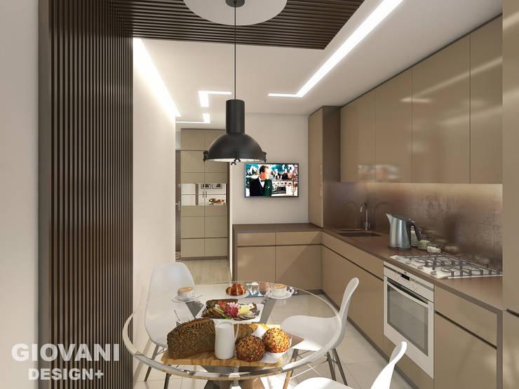 Квартира для молодой семьи: Кухни в . Автор – Giovani Design Studio, Минимализм