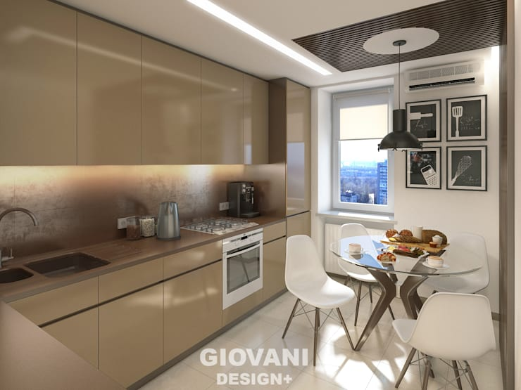 Kitchen by Giovani Design Studio