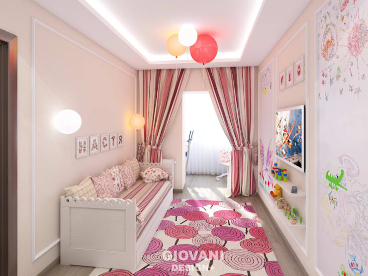Nursery/kid's room by Giovani Design Studio