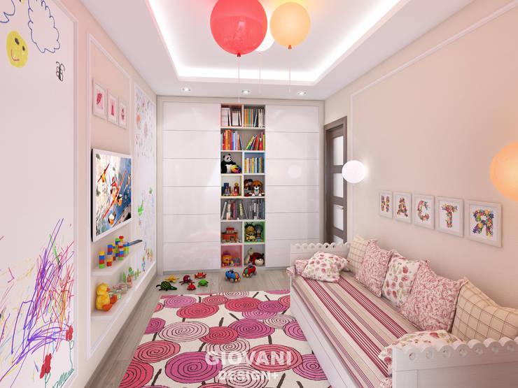 Квартира для молодой семьи: Детские комнаты в . Автор – Giovani Design Studio, Минимализм