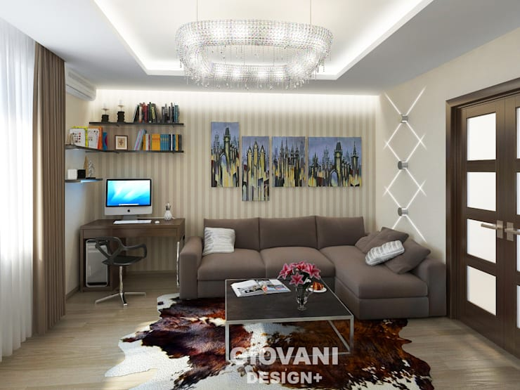 minimalistic Living room by Giovani Design Studio