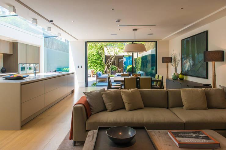 Cozinhas modernas por Nash Baker Architects Ltd