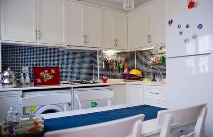 DAFNI MİMARLIK – D2 Evi: modern tarz Mutfak