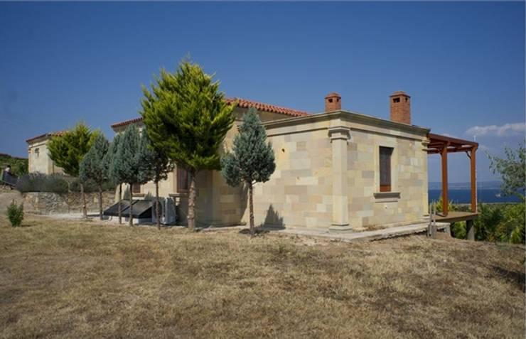 Projekty,  Domy zaprojektowane przez DAFNI MİMARLIK