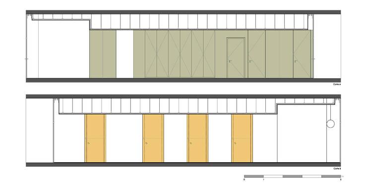 Cortes - Intervenção:   por Teresa Pinto Ribeiro | Arquitectura |