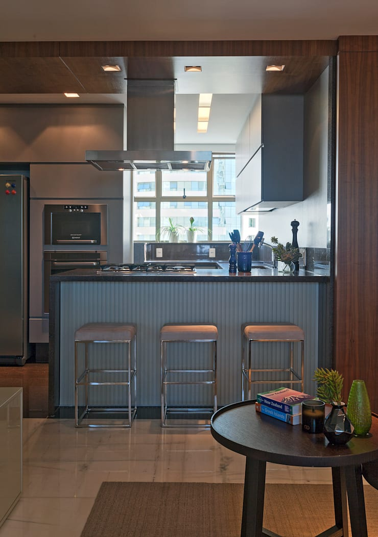 Loft Belvedere: Cozinhas modernas por Dubal Arquitetura e Design