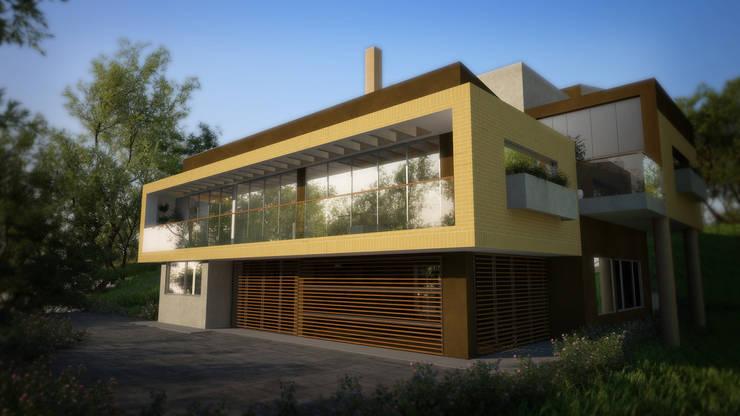 Casa Hernandez: Casas de estilo  por Lápiz De Sueños