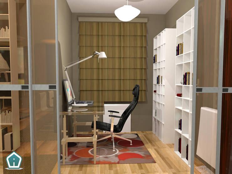 Camerette: Studio in stile  di 3d Casa Design