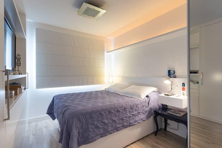 غرفة نوم تنفيذ Kali Arquitetura