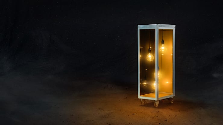 SKYLIGHT:  Eetkamer door Grego Design Studio