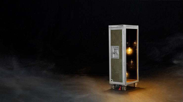 SKYLIGHT:  Woonkamer door Grego Design Studio