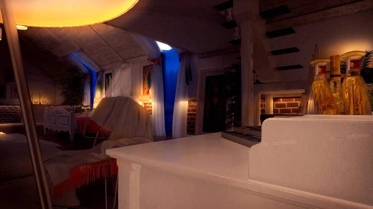 Design by Bley – Living Spaces Near The Lagoon:  tarz İç Dekorasyon