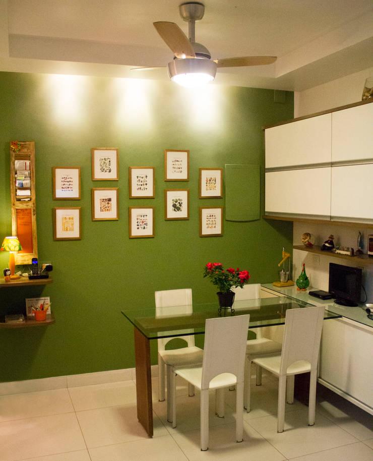 Copa/Cozinha: Cozinhas  por Atelier Espaço Santa