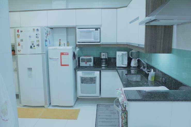 Cozinha: Cozinhas  por Atelier Espaço Santa
