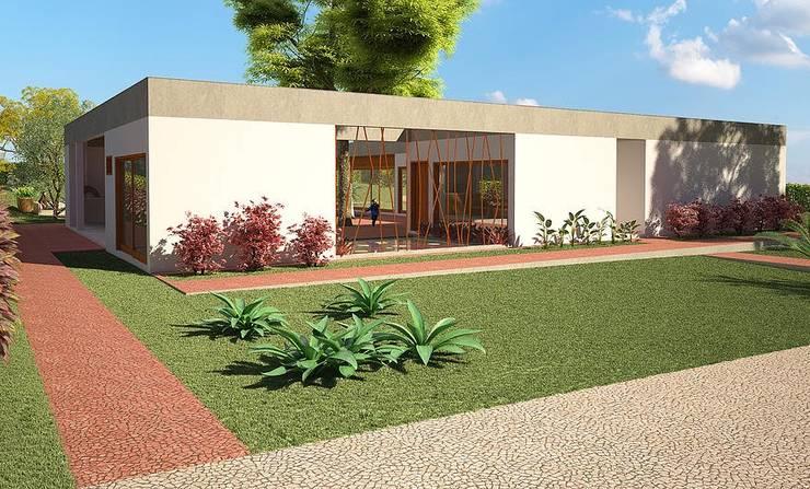 Casa Bofete / SP: Casas campestres por Dualday Studio