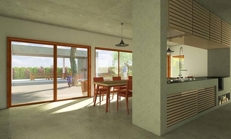 Casa Nascentes / SP: Cozinhas campestres por Dualday Studio
