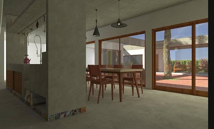 Casa Bofete / SP: Cozinhas campestres por Dualday Studio