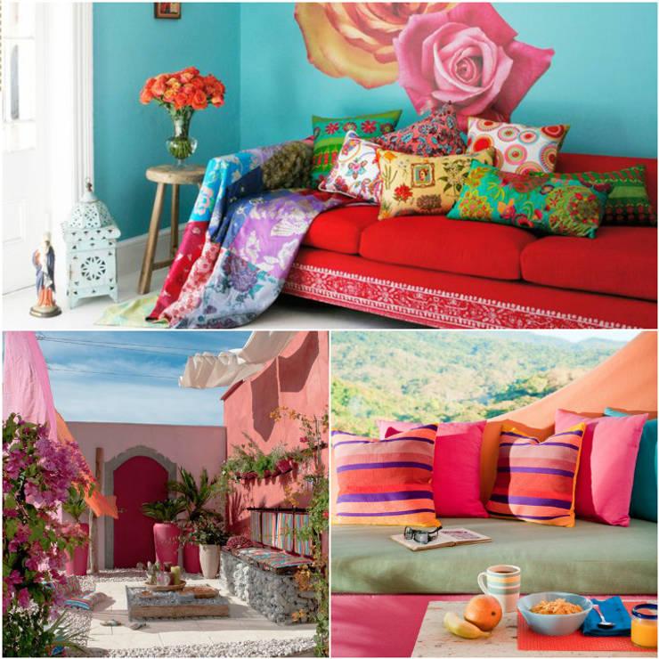 Decoração, arte e Frida Kahlo: Casa  por Casa de Valentina