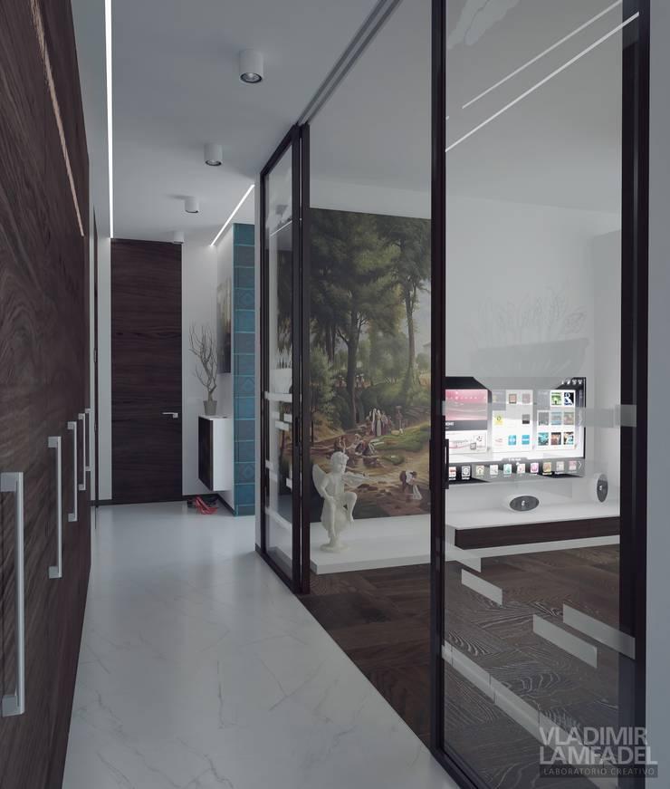 Uno mattina nebbiosa a Milano: Коридор и прихожая в . Автор – Laboratorio Creativo di Vladimir Lamfadel