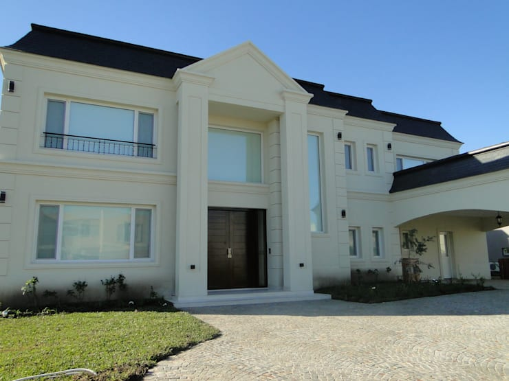 klasieke Huizen door Arquitectos Building M&CC - (Marcelo Rueda, Claudio Castiglia y Claudia Rueda)