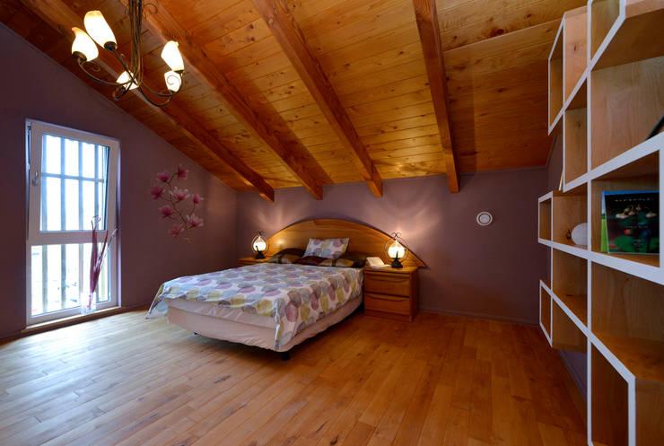作品: onoが手掛けた寝室です。