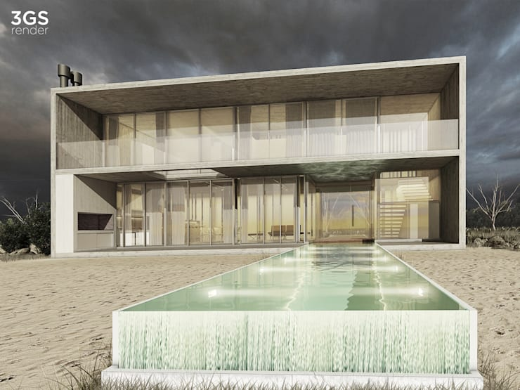 3GS Render: Casas de estilo  por 3GS render,Moderno