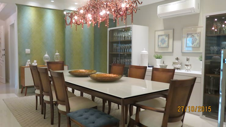 Projeto: Salas de jantar  por alessandrabecel
