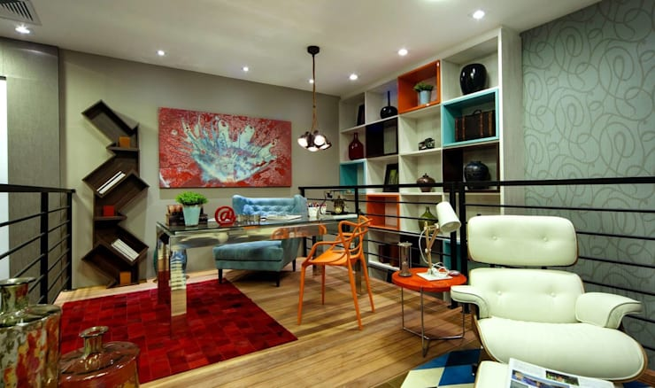 Living room by JS ARQUITECTURA