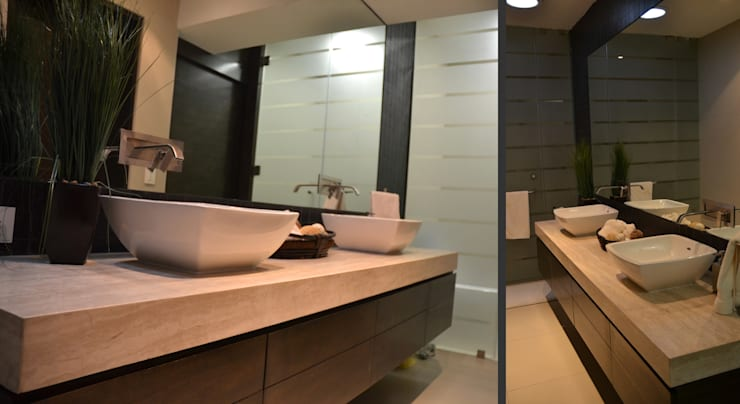 modern Bathroom by TREVINO.CHABRAND | Architectural Studio