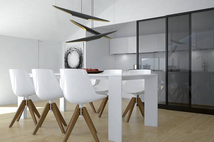 modern Dining room by olivia Sciuto