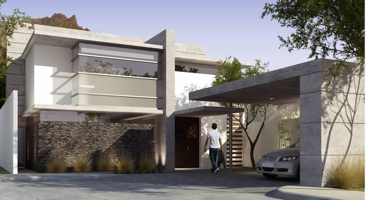 TREVINO CHABRAND Taller de Arquitectura: Casas de estilo  por TREVINO.CHABRAND | Architectural Studio