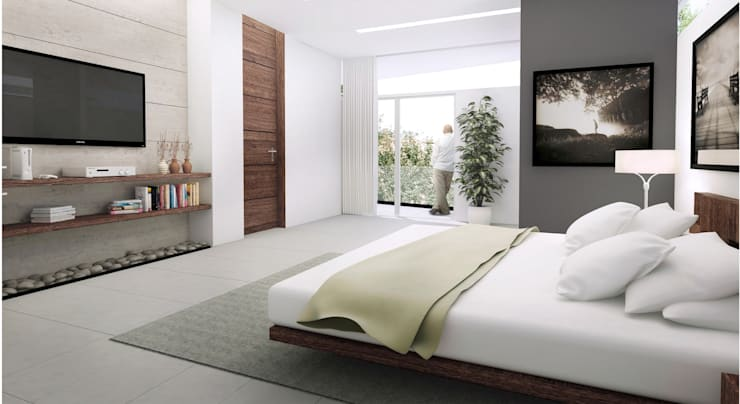 Bedroom by TREVINO.CHABRAND | Architectural Studio