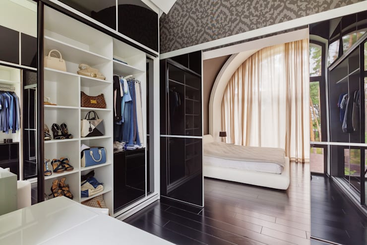 Dressing room by U-Style design studio