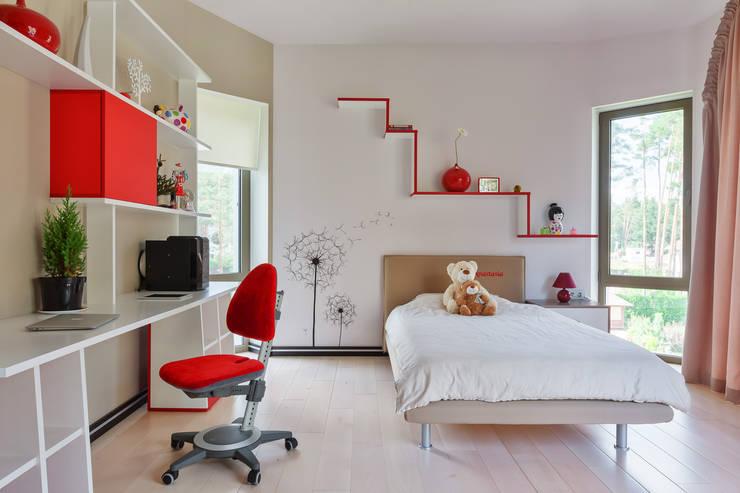Плюты: Детские комнаты в . Автор – U-Style design studio