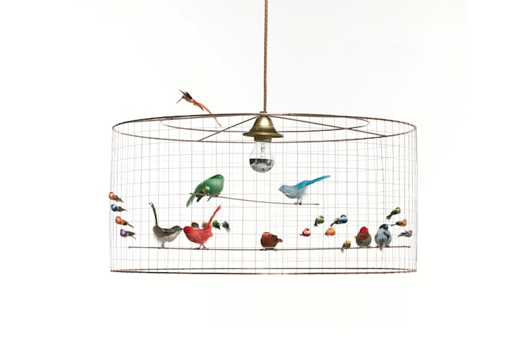 Living room by Años Luz Iluminación de Vanguardia