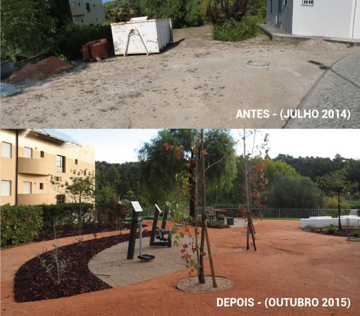 Antes e Depois: Jardins  por OpenGreen