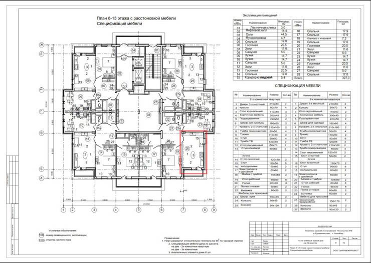 Abb Design Studio – (Rusya Büyükelçiliği) TM – Oturma Odası:  tarz , Klasik