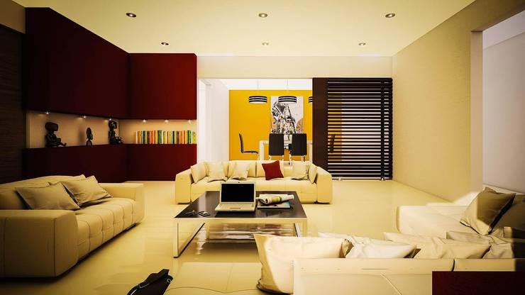 Proyecto J + L: Salas de estilo  por GarDu Arquitectos