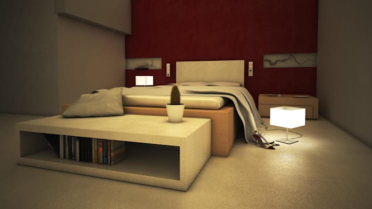 modern Bedroom by GarDu Arquitectos