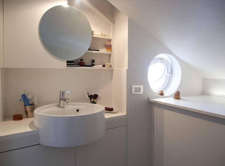 Projekty,  Łazienka zaprojektowane przez in&outsidesign