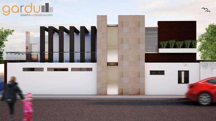 Proyecto J + L: Casas de estilo  por GarDu Arquitectos