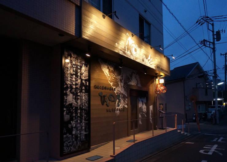 FACADE-4: 株式会社DESIGN STUDIO CROWが手掛けたレストランです。,モダン