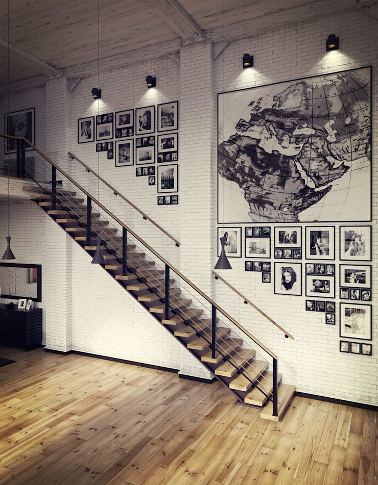 Studio 33: Salas de estar  por RIP3D ARCHVIZ