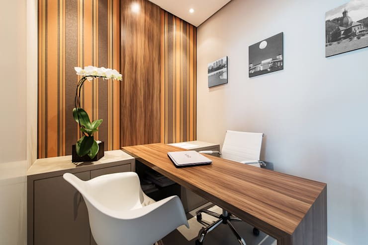 Clínica Curitiba de Odontologia: Clínicas  por DOM Arquitetura e Interiores,Moderno