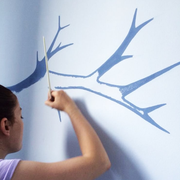 Arte mural en las habitaciones infantiles: Habitaciones infantiles de estilo  de RoomRoomBebé